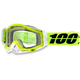 Solar Yellow Racecraft Goggle w/Clear Lens - 50100-157-02