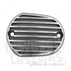 Semi-Polished Finned Front Master Cylinder Cover - 4045