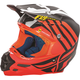 Matte Orange/Black/White F2 Carbon MIPS Zoom Helmet