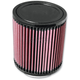 Universal Round/Straight Clamp-On Air Filter - 5 in. Diameter x 5 5/8 in. Long - RU-5114