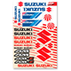 Universal Suzuki Sticker Kit - N30-1050