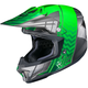 Green/Gray/Silver CL-X7 Cross-Up MC-4 Helmet