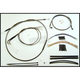 Black Pearl Designer Series Handlebar Installation Kit for Use w/15 in. - 17 in. Ape Hangers - 487432