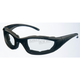 Black Photochromatic On-A-Budget C22-SS Sunglasses w/Smoke Lens - C-22SS
