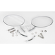 Radius Touring Oval Mirrors - 0640-0526