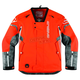 Orange Comp 8 RR Shell Jacket with Neck Brace Collar