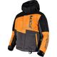 Youth Black/Orange/Charcoal Squadron Jacket