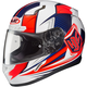 White/Red/Blue CL-17 MC-1H Striker Helmet