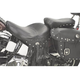 10 1/2 in. Wide Renegade Deluxe Leather Touring Pillion Pad with Studs - 800-01-017