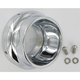 4 in. Polished End Caps for WFB Performance Mufflers - 18600254