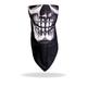 Human Skull Fleece Lined Neck Warmer - FWC1001