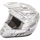 White/Black Kinetic Pro Cold Weather Speed Helmet