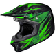 Hi-Viz Neon Green/Black MC-4 CL-X7 Pop 'N Lock Helmet