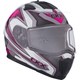 Pink/White Tranz 1.5 RSV Yan Modular Snow Helmet