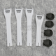 M1.2 White Boot Strap Kit - 3430-0431