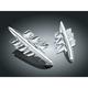 Chrome Shark Gill Fairing Accent - 7314