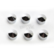 Chrome Bolt Cap Set - 70007