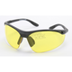 Black Safety Classic C-123 Sunglasses w/Night Driving Lens - C-123BK/ND