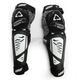 Black/White 3DF Hybrid EXT Knee and Shin Guards