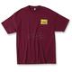 Burgandy Tread T-Shirt