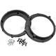 Black 6.5 in. Speaker Adapter Rings - 049964