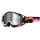 Orange Destruct Racecraft Goggles w/Mirror Lens - 50110-036-02