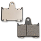Rear Semi-Metallic Brake Pads - 1721-1915