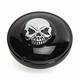 Gloss Black Vented Screw-In Locking Skull Gas Cap - 0703-0690