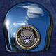 Crown 1.8 Inch Horn Cover Attachment With Veteran US Air Force 2-Sided Coin - JMPC-HC-VAIRFORC