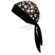 Black/White Skulls Stretch Z-Wrap - BNDNA003-64