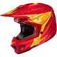 Red/Orange/Yellow MC-1 CL-X7 Pop 'N Lock Helmet