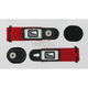 Red/Black/White Goggle Speed Strap Kit - 212576-0004