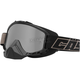 Gloss Black Force Snow Goggles w/Mirrored Dual Lens - 64-1501
