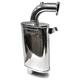 Stainless Ceramic Full Velocity Muffler - 02-115-SC