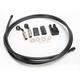 Black Pearl Designer Series BYO Braided Single Disc 6 Ft Brake Line Kit with 10mm 35 Degree Banjo - 496135A