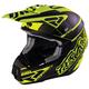 Matte Black/Hi-Vis Torque Commando Helmet