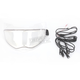 AMPD Clear Electic Dual-Lens Snow Shield w/Cords for AFX FX-140 Helmets - 0130-0497