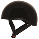 Gloss Black Mikro Old School Helmet