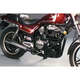 2-into-1 Black Header/Chrome Megaphone Style Exhaust System - 801-0503