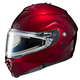 Wineberry IS-Max 2 Snowmobile Helmet w/Electric Shield
