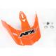 Safety Orange Visor for AFX Helmet - 0132-0677
