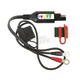 12V Battery Lead w/Integrated Battery Status/Charge System Monitor - O124