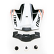 Orange Quadrant Race Visor Kit - 0132-0698