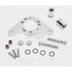 Chrome Carb Support Bracket and Breather Kit - DM-52
