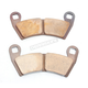 Front Sintered Metal Brake Pads - 1721-1229