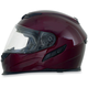 Wine Red FX120 Helmet