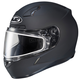 Matte Black CL-17SN Helmet w/Frameless Dual Lens Shield