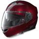 Wine Cherry N104 Evo Classic N-Com Modular Helmet
