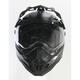 Flat Black FX-41DS Dual Sport Helmet