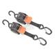 Mini G3 Ratchet Tie-Downs w/Dual S-Hooks - F111640